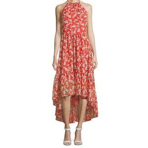 NWT Eliza J Floral Hi-Lo Dress